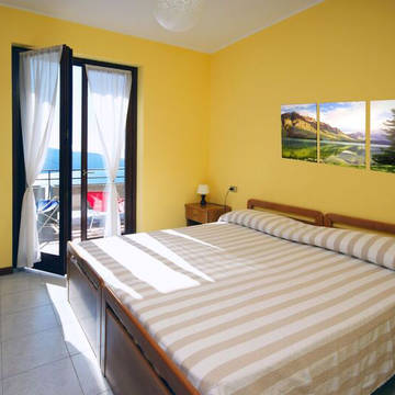Voorbeeld slaapkamer Residence La Rotonda