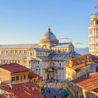 Toren van Pisa op ca. 20 minuten wandelen