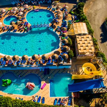 Uitzicht Hotel Mediterraneo