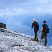 Uitzicht Lysefjord - Foto: Terje Rakke