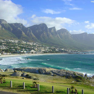 Camp's Bay bij Kaapstad