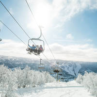 Skilift Geilo - Fotograaf: Vegard Breie