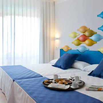Voorbeeldkamer Hotel Evenia Olympic Park