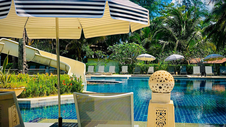 Palm Galleria Resort - Khao Lak - Zwembad Palm Galleria Resort