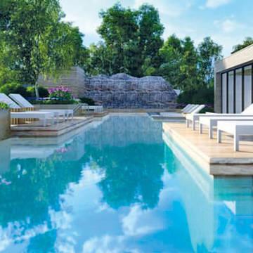 Buiten zwembad Amadore Hotel de Kamperduinen