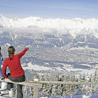 Uitzicht over Innsbruck