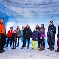 Into the glacier - gids