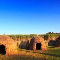 Traditionele huizen in Swaziland