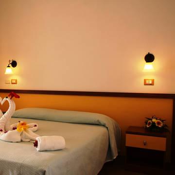 Voorbeeld slaapkamer Residenza Luzia