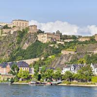 Fort Ehrenbreitstein in Koblenz