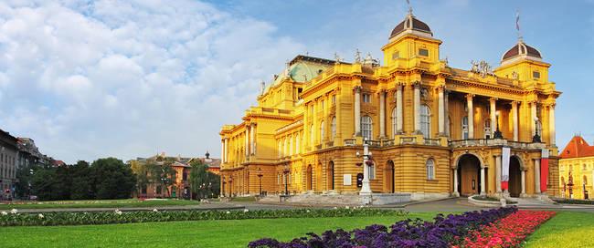 Kroatisch Nationaal Theater in Zagreb