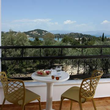 Paradise Hotel Corfu - Voorbeeld kamer Paradise Hotel Corfu