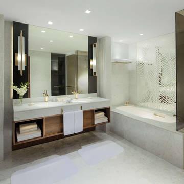 Badkamer Hotel Grand Hyatt Dubai