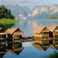 The Hut in Lake khao sok