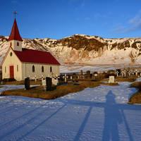 Kerkje in Vik