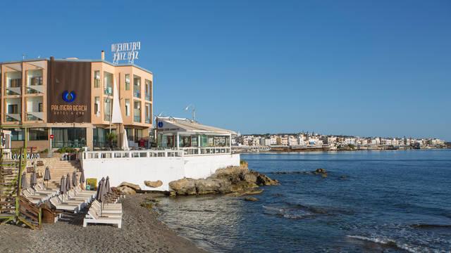Directe ligging aan het strand met een prachtig uitzicht Palmera Beach Hotel & Spa