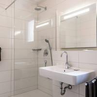 Voorbeeld badkamer Dependance