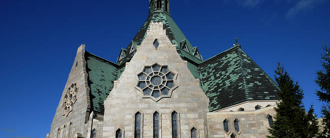 Basiliek in Quebec city