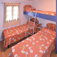 Chalet voorbeeld slaapkamer
