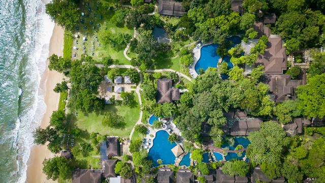 Bovenaanzicht Khao Lak Merlin Resort