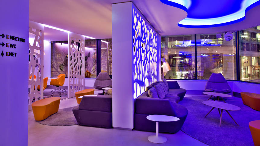 Lounge Hotel Evolution Lisboa