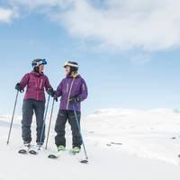 Twee skiërs - Fotograaf: Vegard Breie