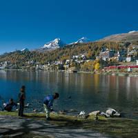 Op vakantie in St. Moritz