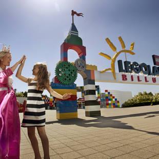 Legoland Billund Entree met prinses