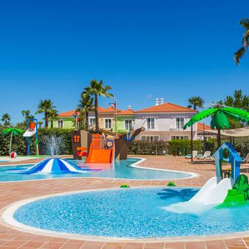 Kinderzwembad Eden Resort villa's
