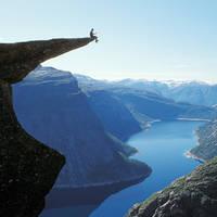 Trolltunga Hardanger - Fotograaf: Harald Hognerud