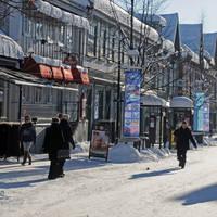 Straatbeeld Lillehammer