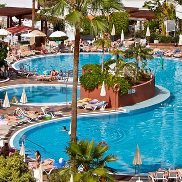 Zwembad Aparthotel Palm Beach Tenerife