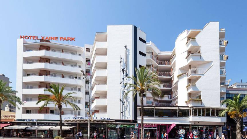 Gebouw Hotel Xaine Park