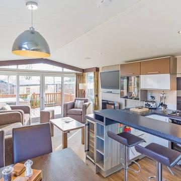 Voorbeeld woonkamer 3-kamerwoning Cheddar Woods