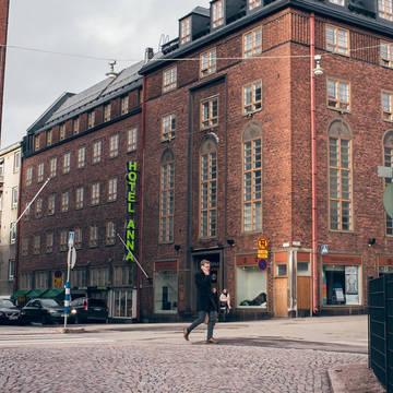 Voorzijde Hotel Anna