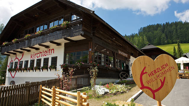 Buitenaanzicht Vakantiepark Kirchleitn Dorf Kleinwild