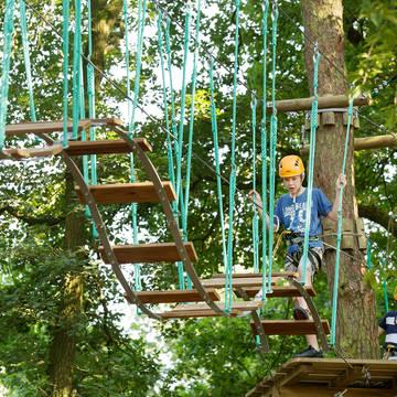 High adventure experience Vakantiepark Center Parcs Het Heijderbos