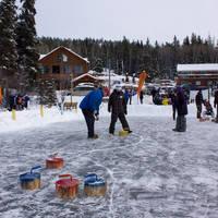 Curling op het meer