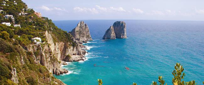 Golf van Napels en Sorrento