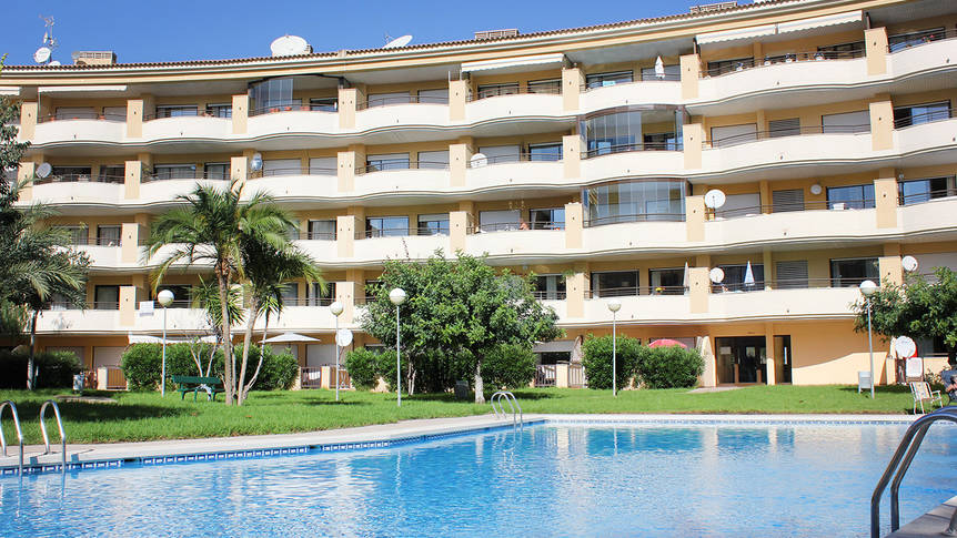 Zwembad en tuin Albir Confort Estrella appartementen