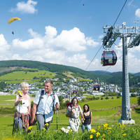 Wandelaars in Willingen