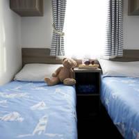 Voorbeeld slaapkamer met twee aparte bedden type Standard