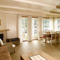 Voorbeeld woonkamer en keuken