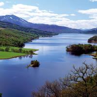 Pitlochry, Loch Tummel - Queen's View