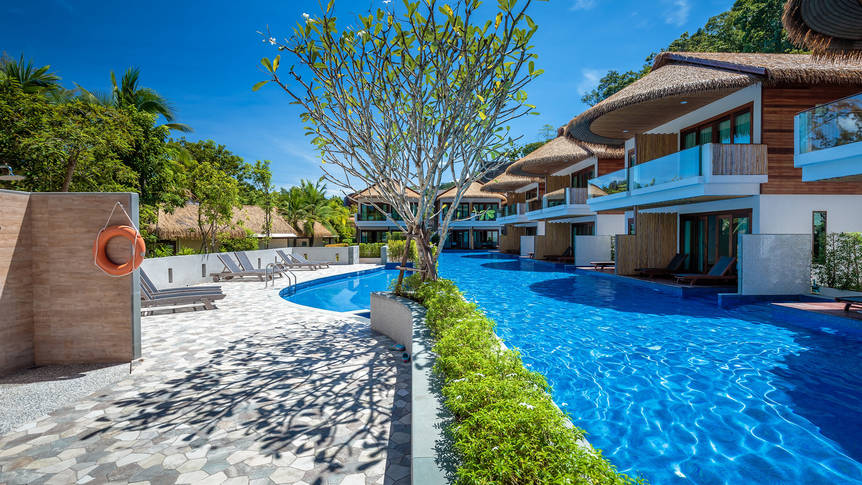 Thailand - Krabi - Tup Kaek Sunset Beach Resort - deluxe pool access Tup Kaek Sunset Beach Resort