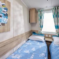 Voorbeeld slaapkamer met twee aparte bedden type Deluxe