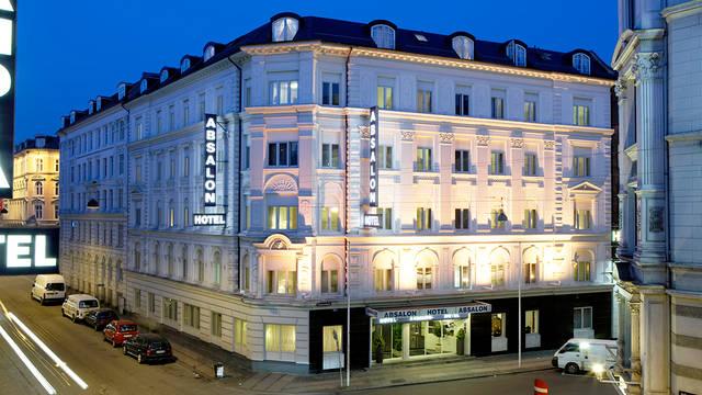 Voorzijde Hotel Absalon