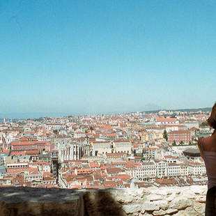 Lissabon overzichtsfoto