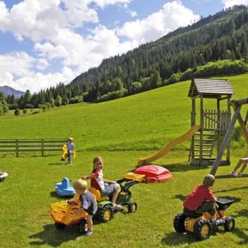 Speeltuin Natur & Familienhotel der Stieglerhof