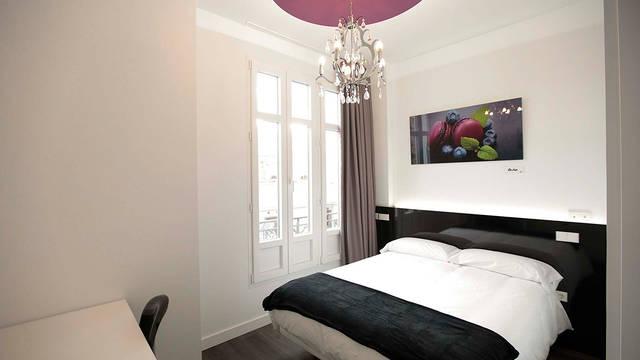 Kamer voorbeeld Hostal Vitium Urban Suites